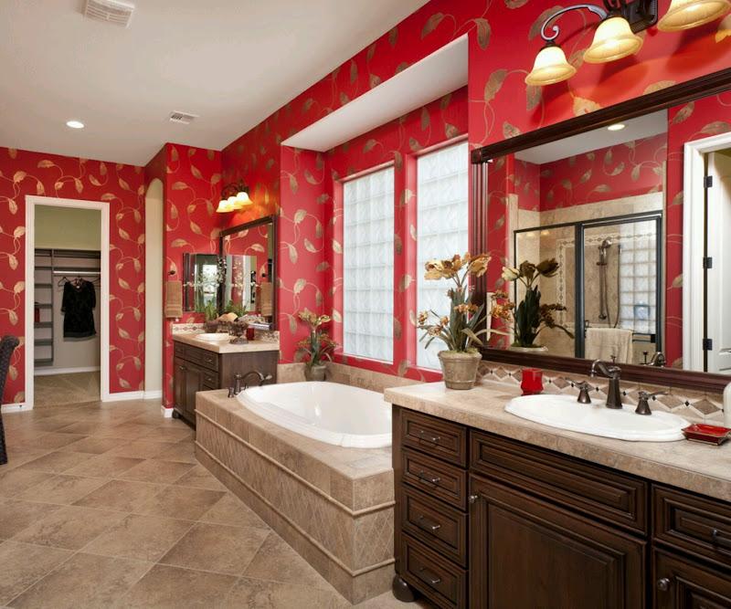 Luxury modern bathrooms designs ideas. title=
