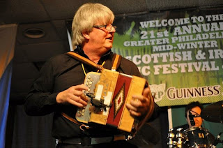 John Whelan performing at last year's Sober St. Patrick's Day