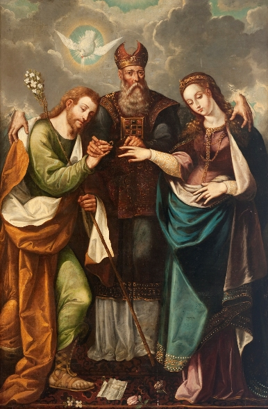 Pauca Verba The Betrothal of the Virgin Mary and Saint Joseph