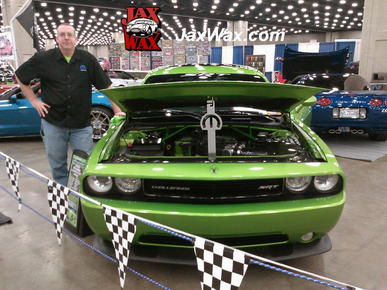 2011 Dodge Challenger Carl Casper Auto Show Jax Wax Customer