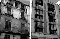 Calle Álamos 8, año 1998 y 2011