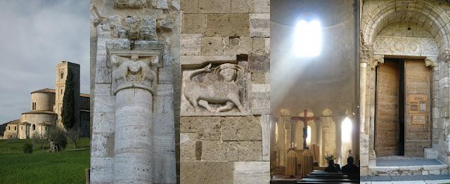 Sant'Antimo Abbey Siena Tuscany