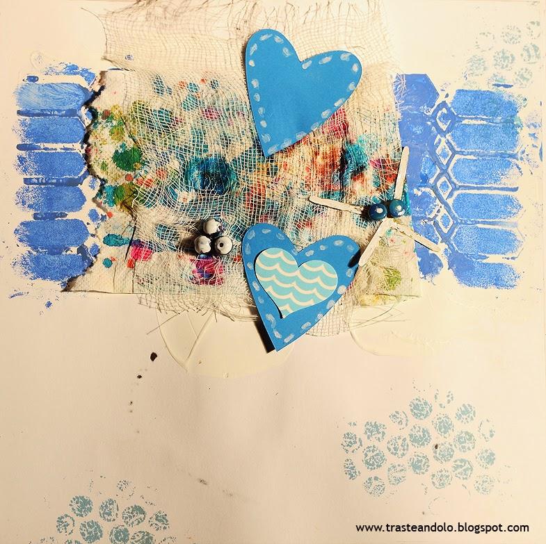 pagina de art journal de recicalje