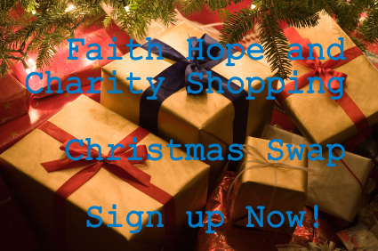 Faith Hope and Charity Shopping Christmas Swap