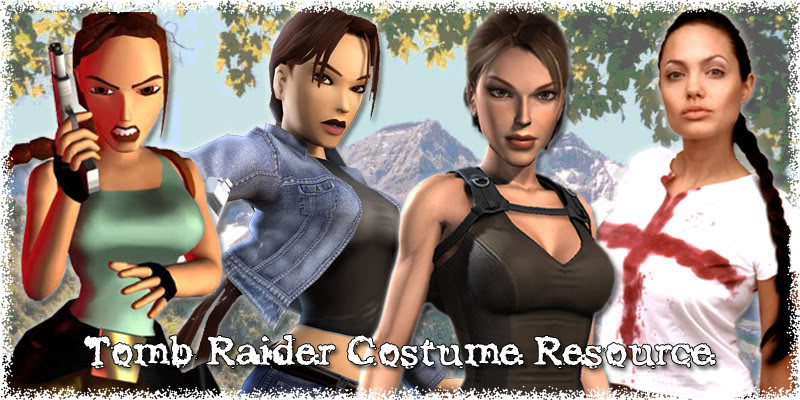 Tomb Raider Costume Resource