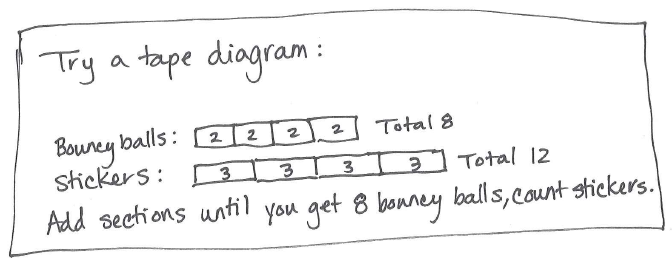 ratio tape diagram word problems | Diarra