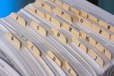 Penataan Dokumen melalui Sistem Abjad