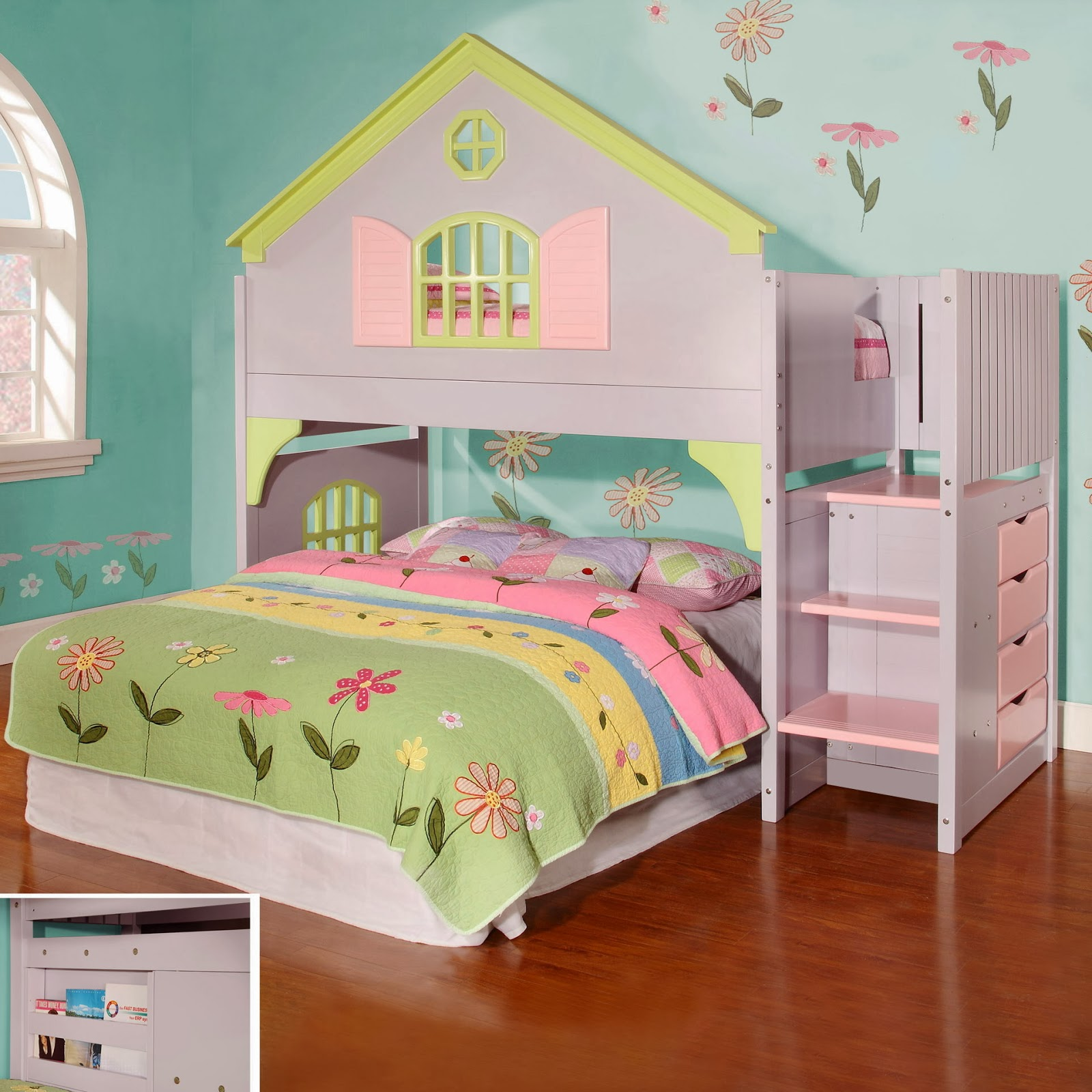 discovery world furniture dollhouse staircase loft bed girls