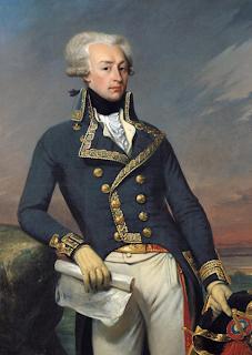 Retrato del Marqués de la Fayete