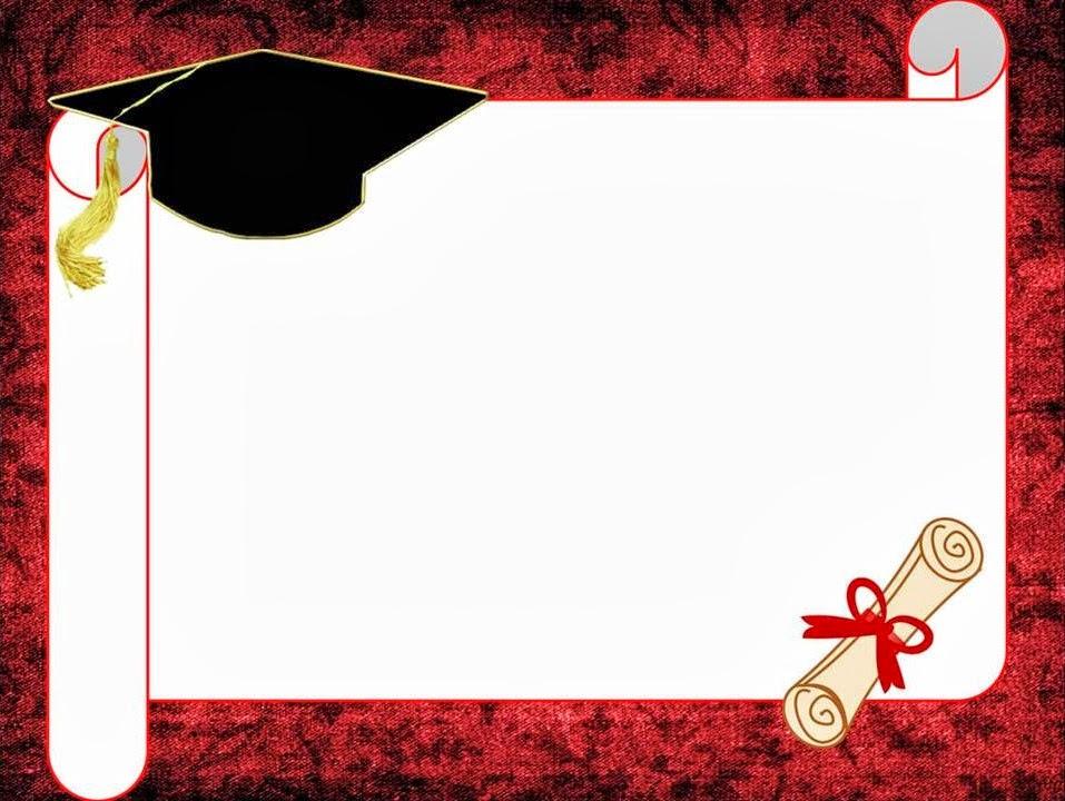 Diploma De Graduacion Para