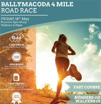 4m race in East Cork... Fri 18th May 2018