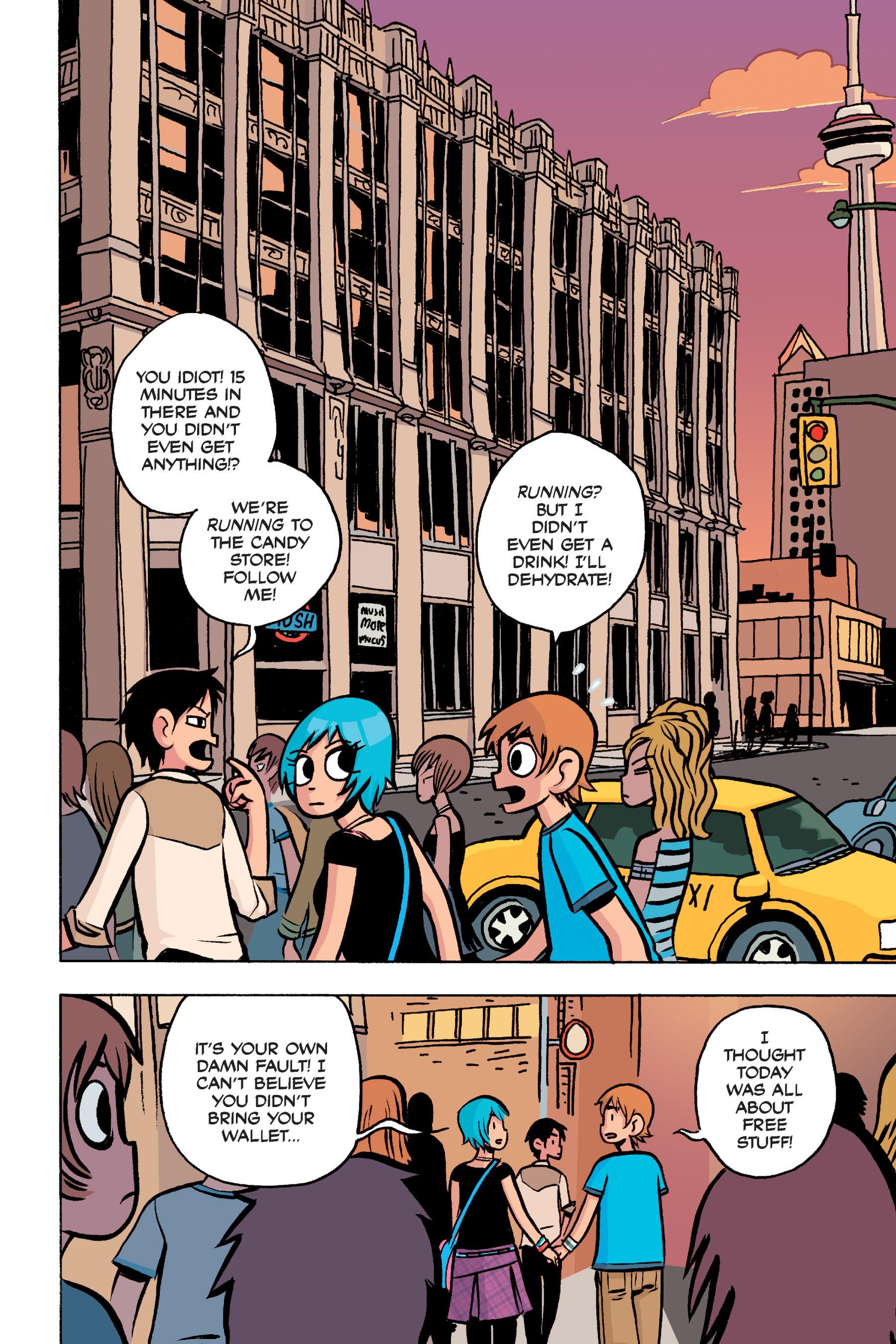 Read online Scott Pilgrim comic -  Issue #3 - 181