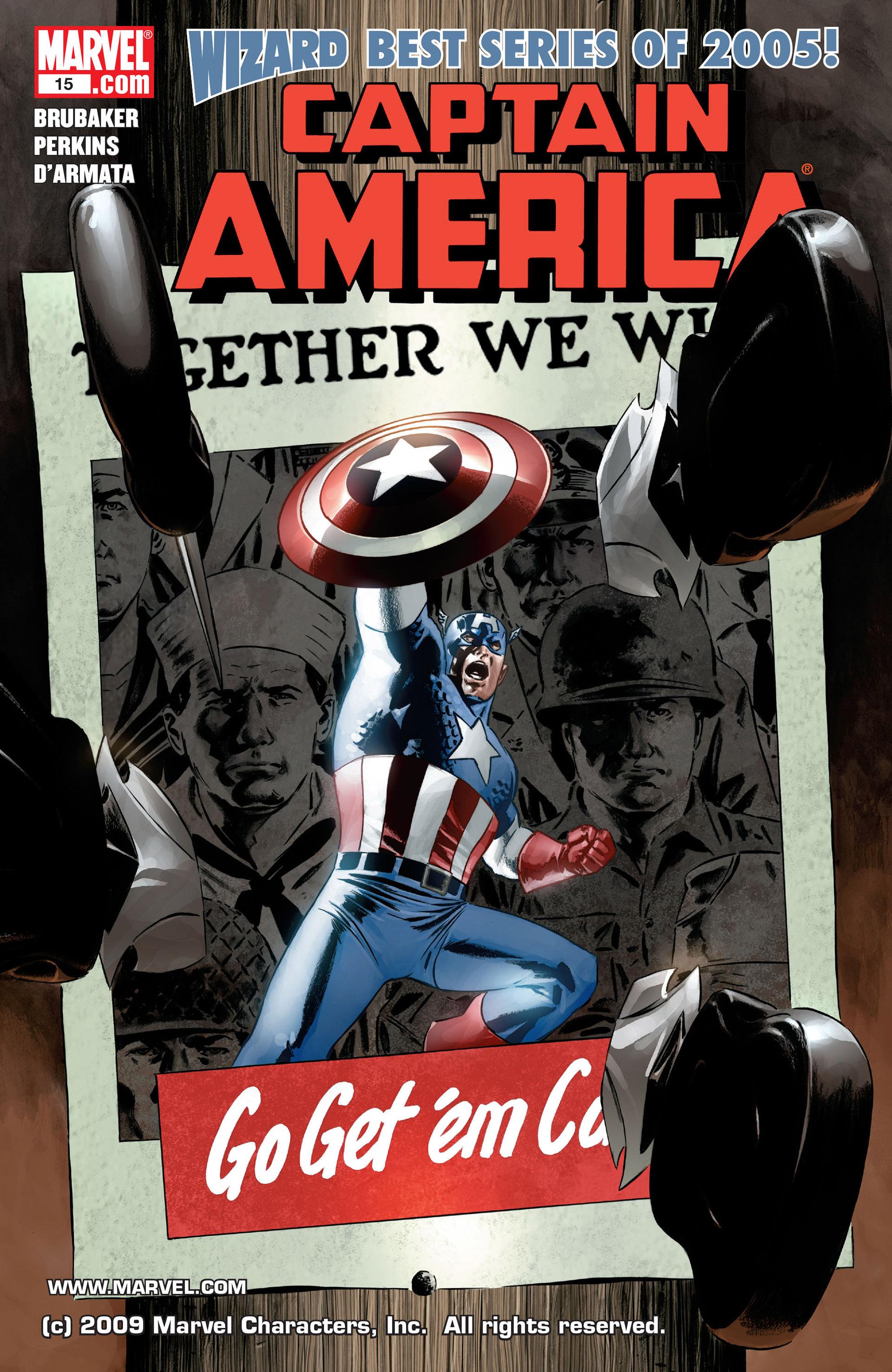 Captain America (2005) Issue #15 #15 - English 1