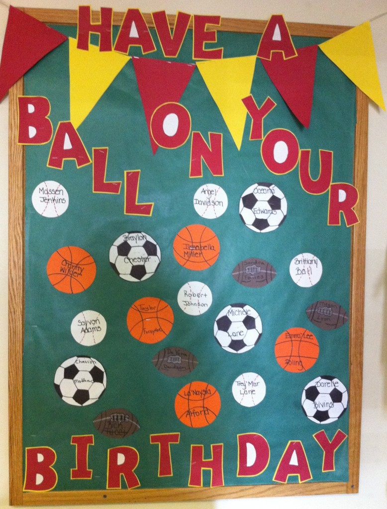Good Behavior Bulletin Board Ideas http://clutterfreeclassroom.blogspot.com/2011/06/sports-themed-classrooms.html