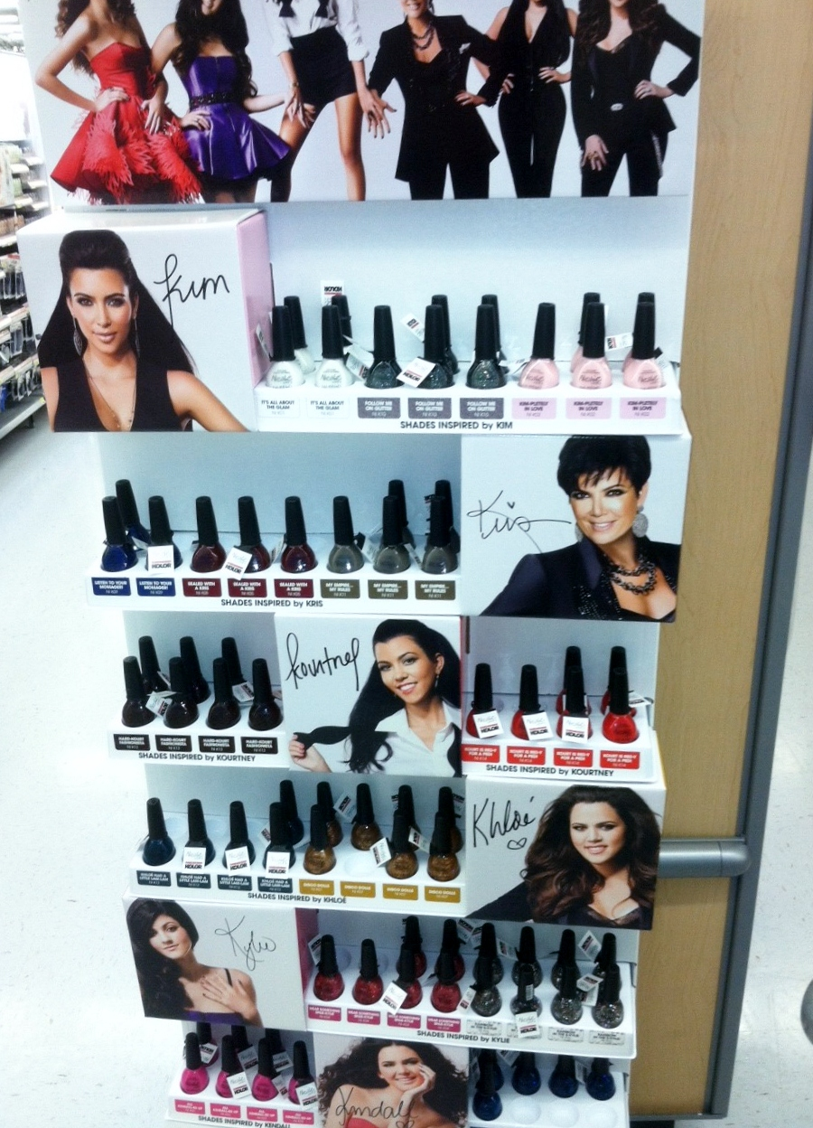 Spotted at Walmart: New Kardashian Kolor for Nicole by OPI nail ...