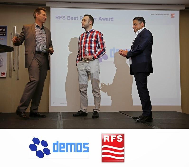 RFS türkiye distribütörü Demos Endüstriyel Sistemler