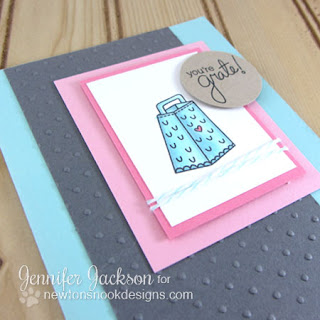 You're grate card close-up by Newton's Nook Designs