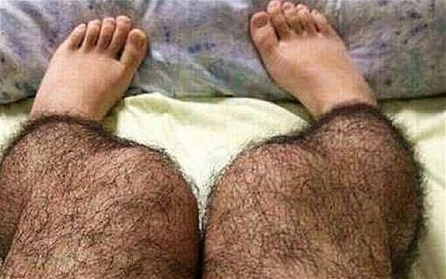 Hairy tights to prevent Rape