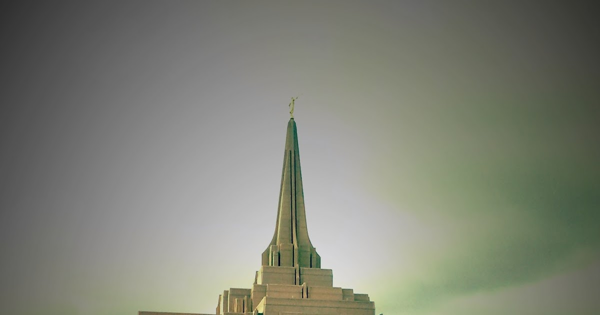 Gilbert LDS Temple: After The Rain Rain