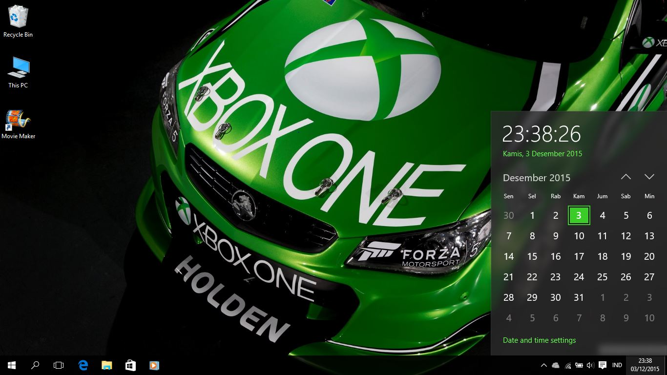 Xbox One Racing Theme For Windows 7/8/8.1 And 10 - Save Themes