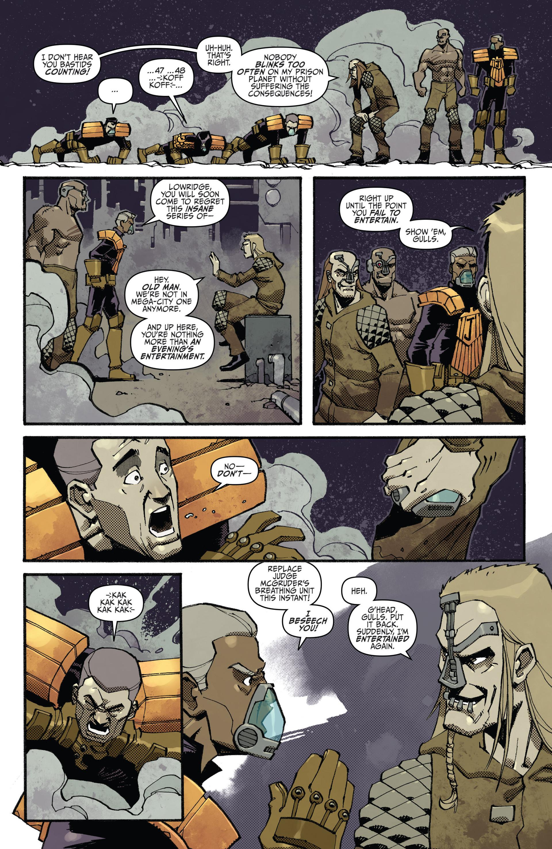 Read online Judge Dredd (2012) comic -  Issue #23 - 10