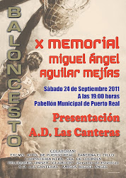 "X  Memorial ""MIGUEL ANGEL AGULIAR MEJIAS"""