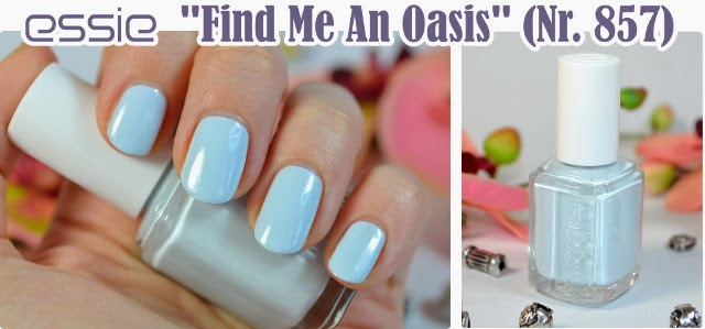 essie Resort 2014 Collection  FIND ME AN OASIS