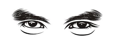 cara menggambar alis mata vector line teknik arsiran