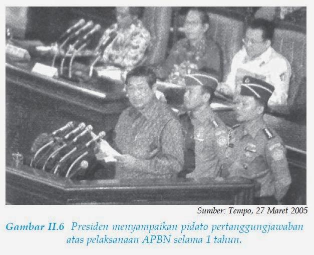 pidato pertanggungjawaban APBN Presiden susilo bambang yudhoyono