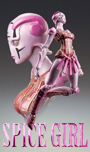Medicos JoJo's Bizarre Adventure Spice Girl Stand figure