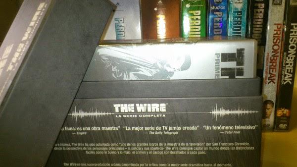 The Wire Lost Prison Break mis adquisiciones