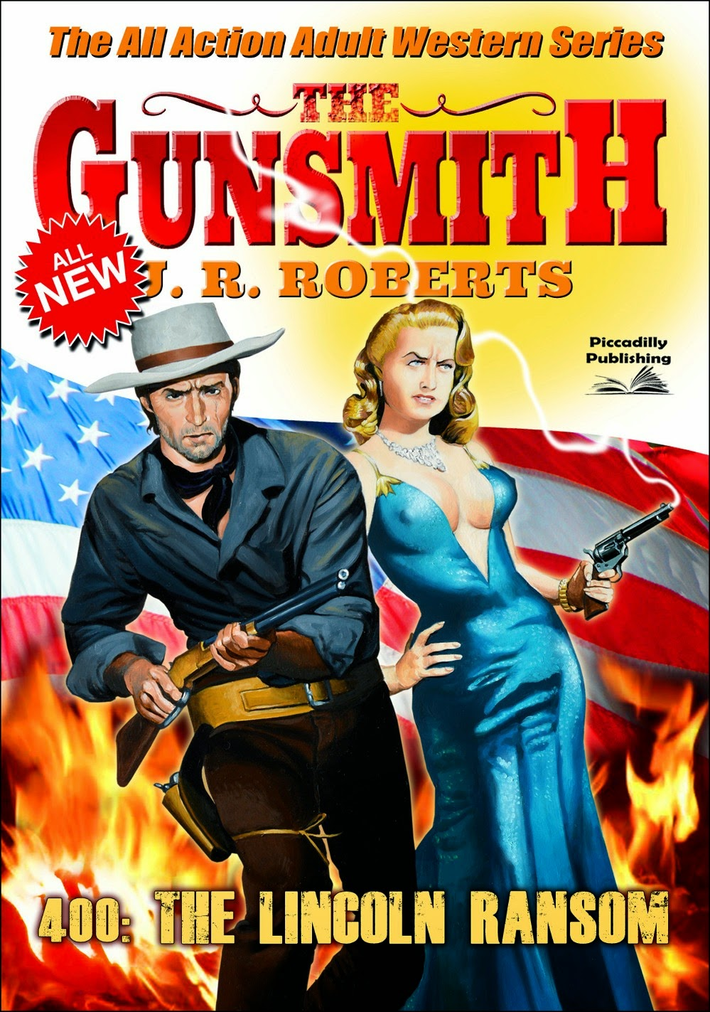 The Gunsmith J.R. Roberts Western Paperback Lot - 74 94 104 107 124 Lot