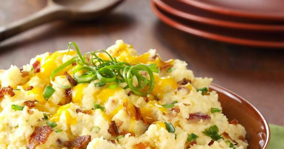 GRANDMA'S SLOW COOKER RECIPES: MAKE A DAY AHEAD LOADED MASHED POTATOES