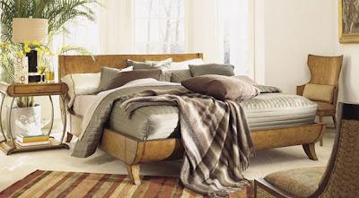 habitación estilo zen