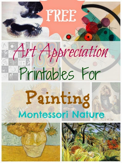 Art Appreciation Printables