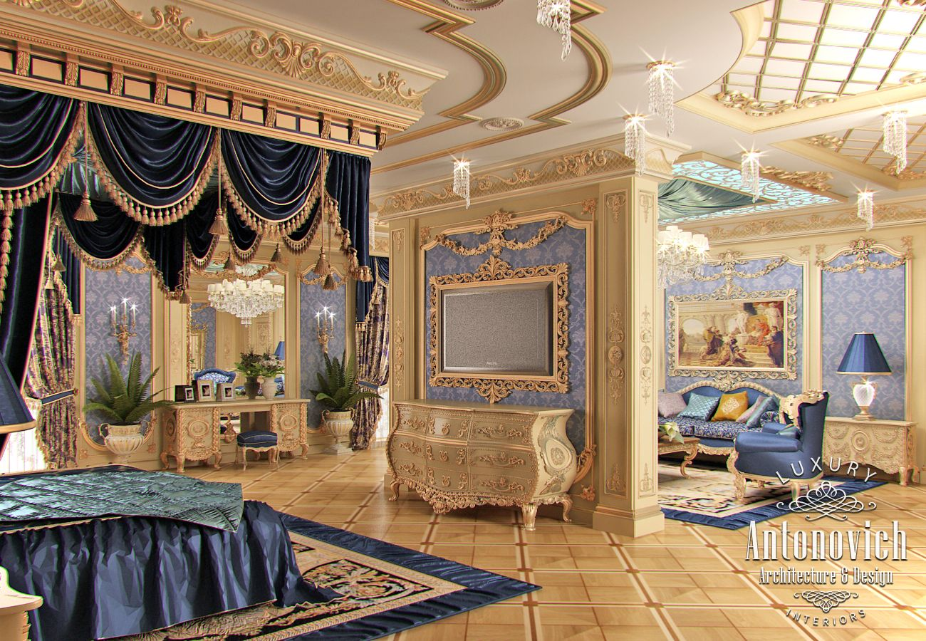 Luxury antonovich design - Many Exquisite Pieces In The Form Of Carved Decoration Gold Braid And Tassels And The Elements Of Lighting Give The Interior A Unique Charm Of A Luxury