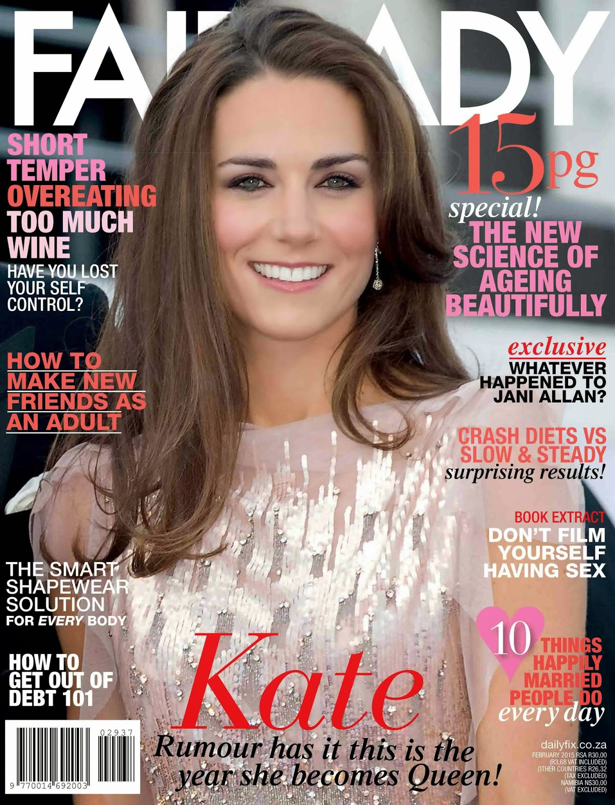 Catherine, Duchess Of Cambridge: Kate Middleton For Fairlady