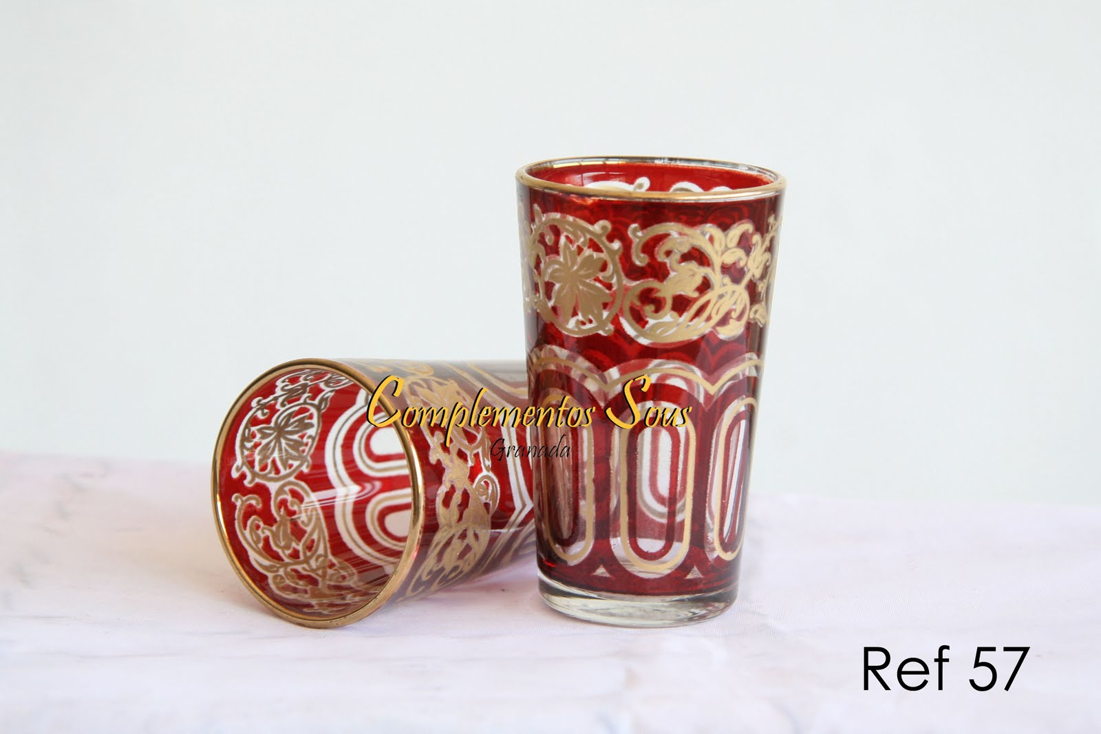 Artesania y complementos en granada teteras y vasos de t for Vasos de te