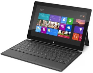 First Surface With Pro Version Of Windows 8