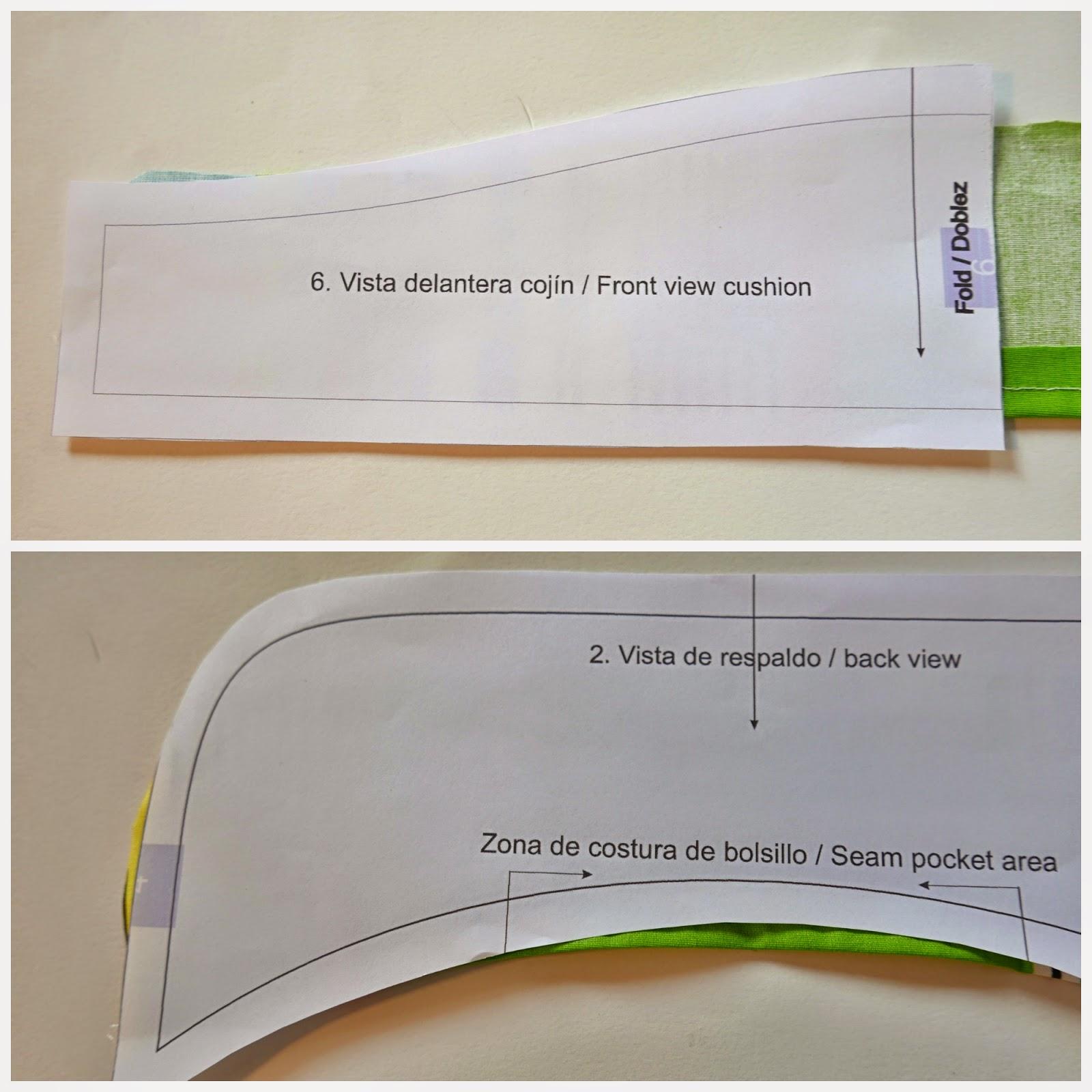 Cómo hacer una funda de trona ~ Colours for Baby
