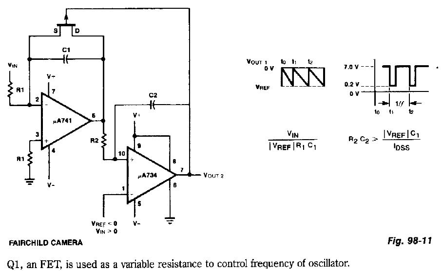electronic circuits for beginners  voltage controlled oscillator vco