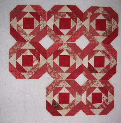 Quilting On Main Street Pineapple Quilt Block Foundation Paper Or