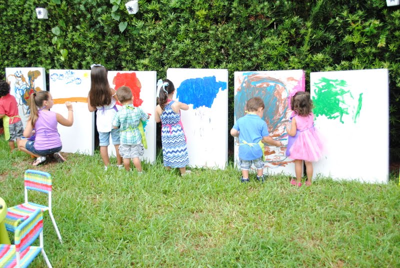 Jandjhome a visit from rapunzel for Kids paint party