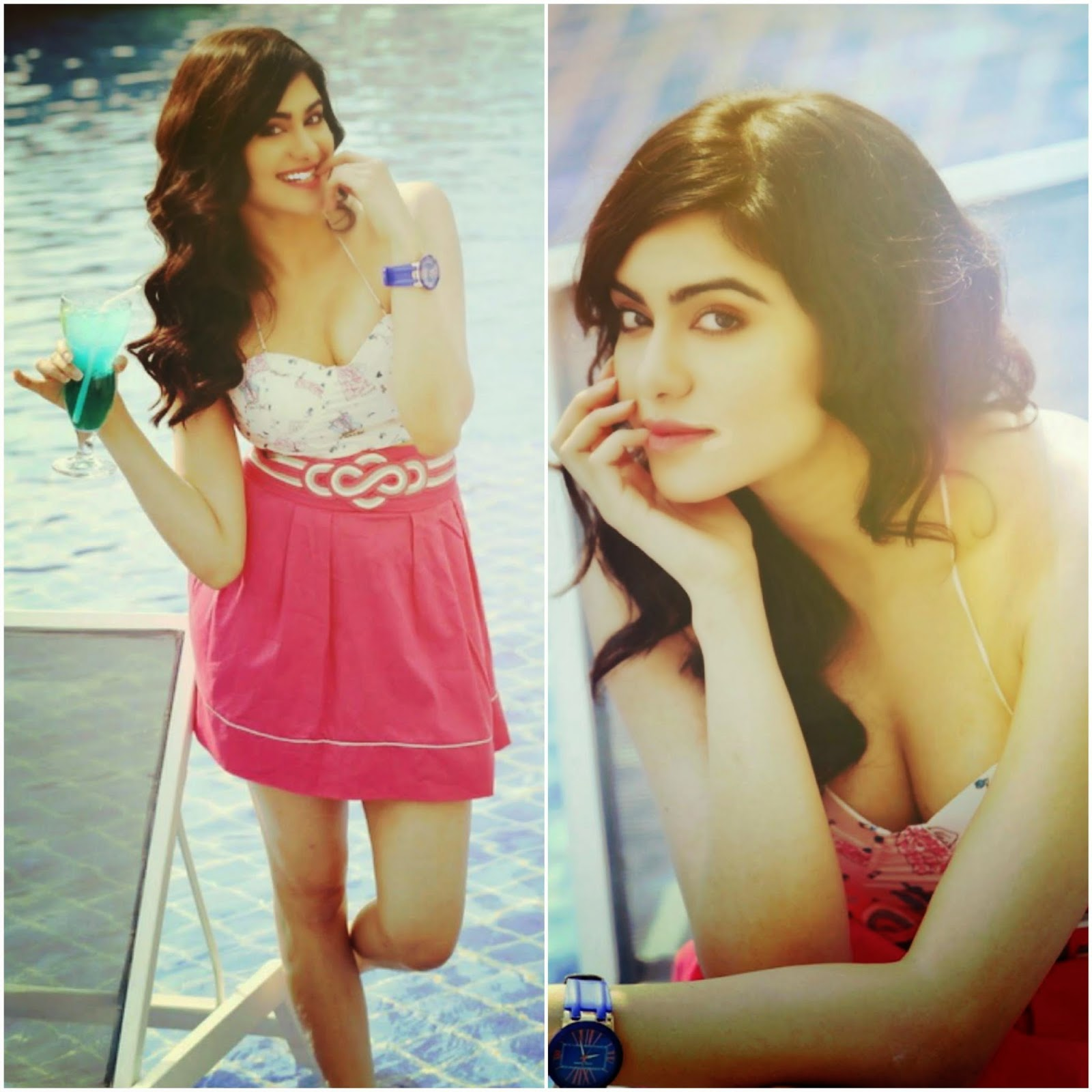 Actress Adah Sharma Latest Cute Hot Exclusive Beautiful Spicy Photoshoot Gallery