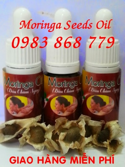 Dầu Moringa có giá trị to lớn mỹ phẩm và được sử dụng trong cơ thể và chăm sóc tóc như một loại kem dưỡng ẩm và lạnh da
