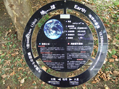 Solar System Walk in Japan