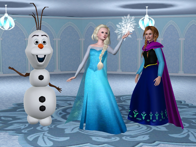 disney s frozen characters elsa anna and olaf costume for children title=