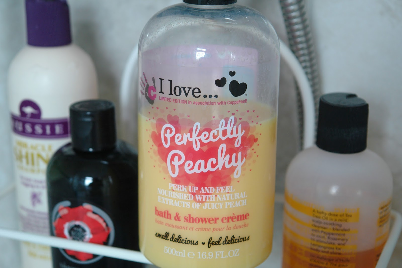 I Love... Perfectly Peachy Bath & Shower Crème, #ShowerHijack