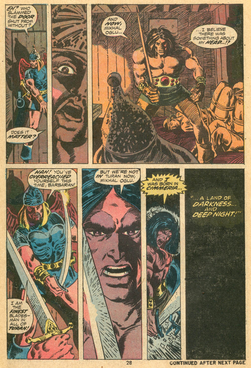 Conan the Barbarian (1970) Issue #23 #35 - English 20