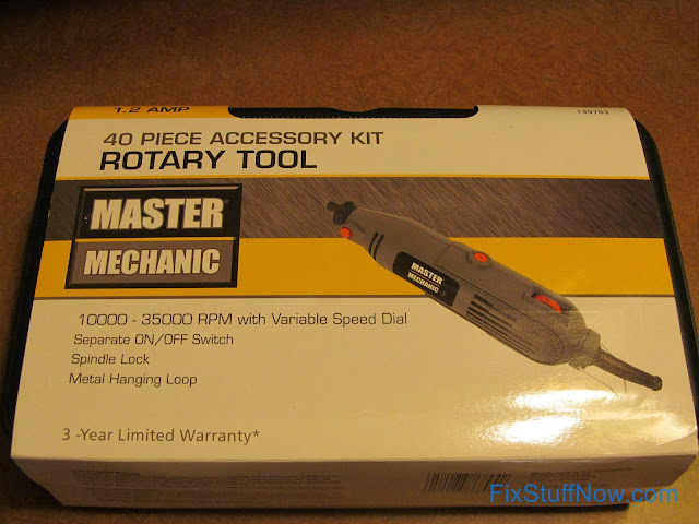 Master Mechanic Rotary Tool - In Box